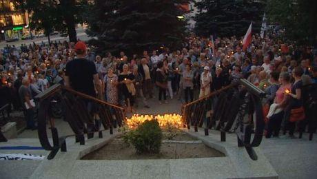 Protesty związane są z wprowadzanymi zmianami w sądownictwie