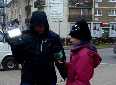 Dzieci reporterami - Julia Binkiewicz z Gorzowa Wlkp.