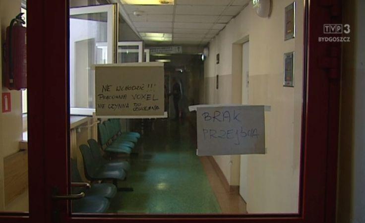 Spaliła się pracownia tomograficzna w szpitalu MSWiA
