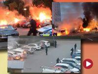 Szwecja w ogniu. Gangi podpalają auta