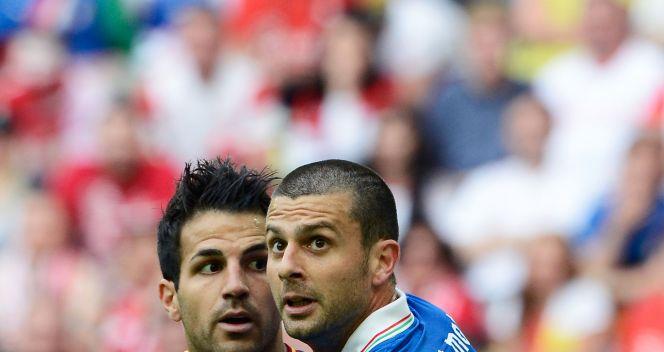 Cesc Fabregas i Thiago Motta (fot. Getty Images)