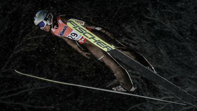 Skoki Narciarskie - Mistrzostwa Świata w lotach - Oberstdorf - konkurs drużynowy ( studio )