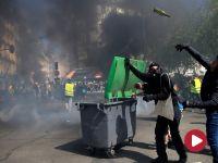 """""""Żółte kamizelki"""" nie odpuszczają. Protesty znów przybrały na sile"""