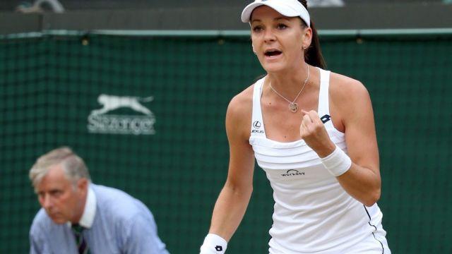 Radwańska: nie myślałam o półfinale Wimbledonu
