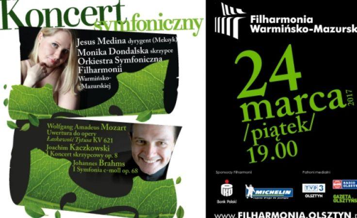 Koncert odbędzie się w piątek 24 marca o godz. 19:00