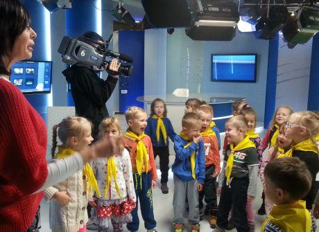 Dzieci z Przedszkola Samorządowego nr 42 im. św. Mikołaja w TVP3 Kielce