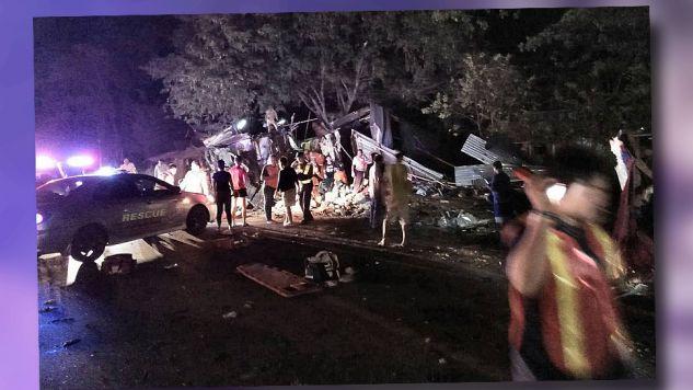 Policja ustala przyczyny katastrofy (fot. TT/Hook31_Thailand)