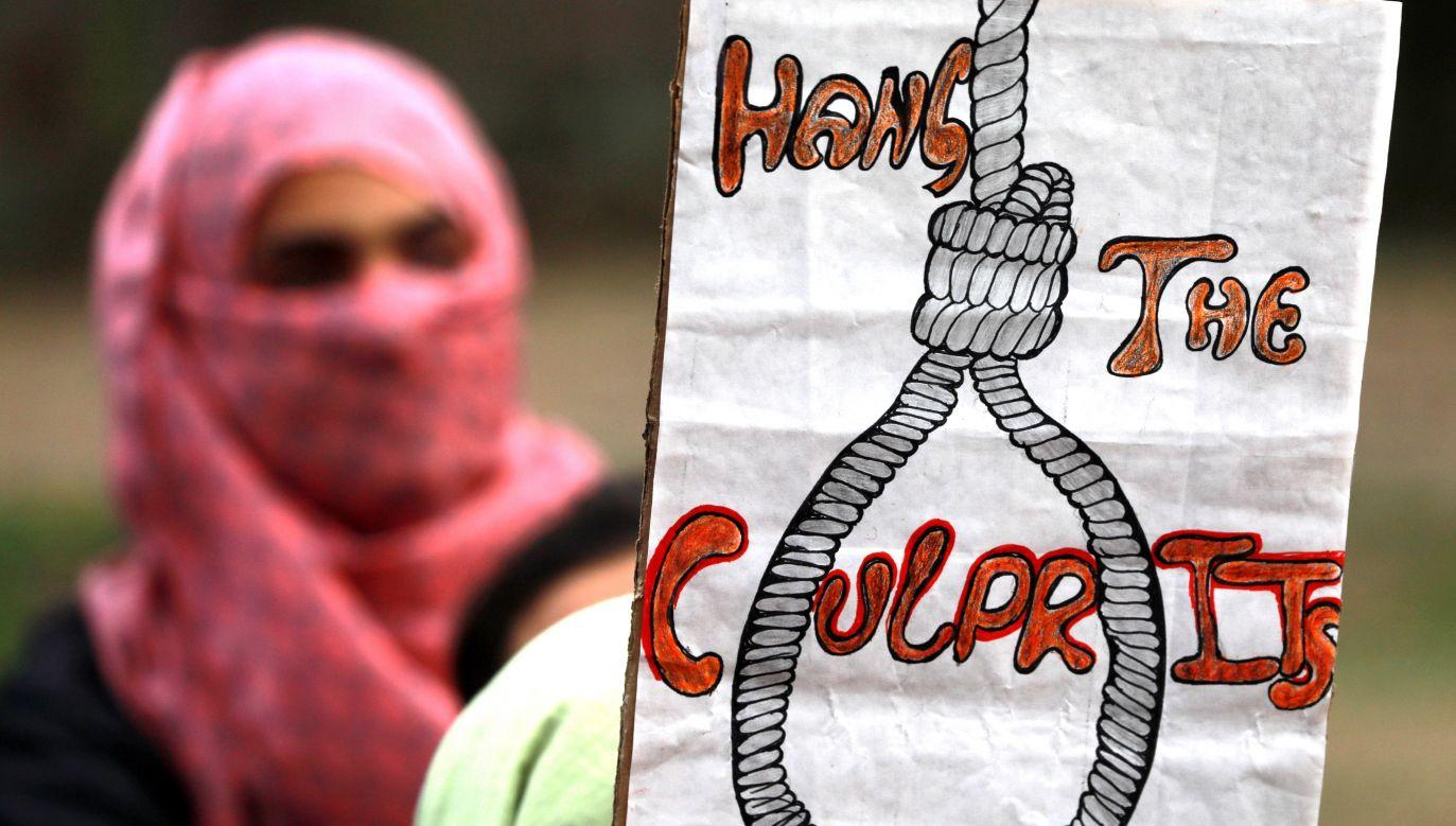 Do tej pory najwyższym wymiarem kary za gwałt na nieletnich było dożywotnie więzienie (fot. PAP/EPA/FAROOQ KHAN)