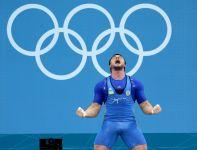 Złoty medalista Oleksiy Torokhtiy  z Ukrainy (fot.PAP/EPA)