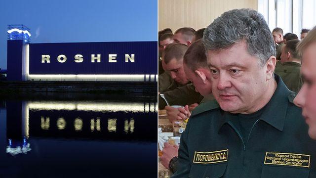 """Rosja szuka haków na Poroszenkę. Do fabryki """"króla czekolady"""" weszli śledczy"""