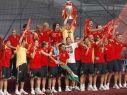 Dzięki tytułowi mistrza Europy Hiszpanie wystąpili w 2009 roku w Pucharze Konfederacji w RPA (fot. PAP/EPA)
