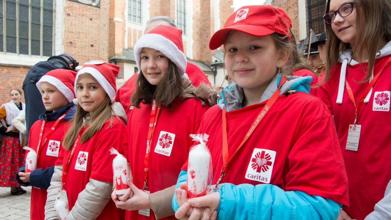 Z każdym rokiem akcja cieszy się coraz większą popularnością (fot. Caritas)