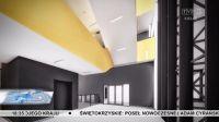 Wizaulizacja budynku medycyny po przebudowie