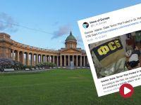 Podejrzani o terroryzm zatrzymani w Petersburgu. Planowali zamachy bombowe