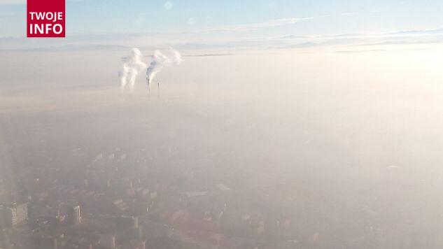 Smog nad Krakowem (fot.Twoje Info/Marek)