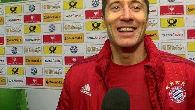 Lewandowski: karny? W Bundeslidze to ja podejdę