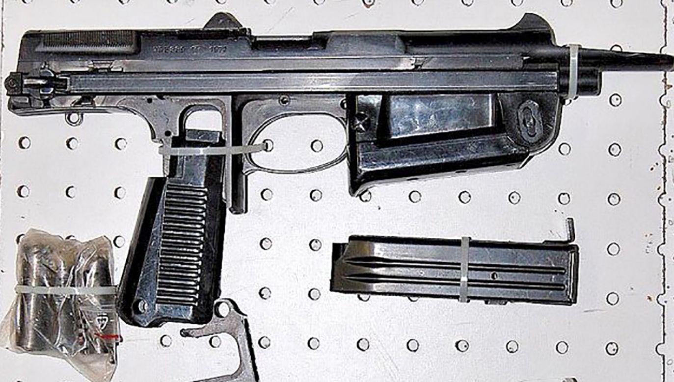 Z magazynu mogło zginąć nawet kilkadziesiąt pistoletów maszynowych (fot. Archiwum)