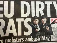 Brytyjska prasa o Donaldzie Tusku: Gangster za trzy grosze