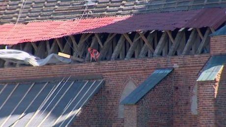 Ostatni raz dach katedry był naprawiany na początku lat 80. minionego stulecia.