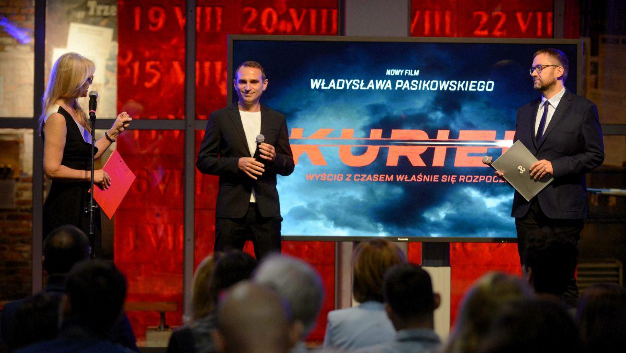 Producentem filmu jest Muzeum Powstania Warszawskiego (PAP/Jakub Kamiński)
