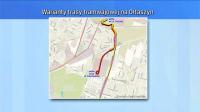 Drugi wariant trasy (fot. TVP3 Wrocław)