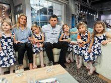 Rodzina państwa Szymkiewiczów w komplecie