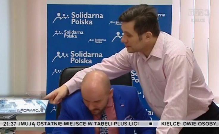Politycy z regionu w kierownictwie Solidarnej Polski. Mariusz Gosek został sekretarzem generalnym partii.