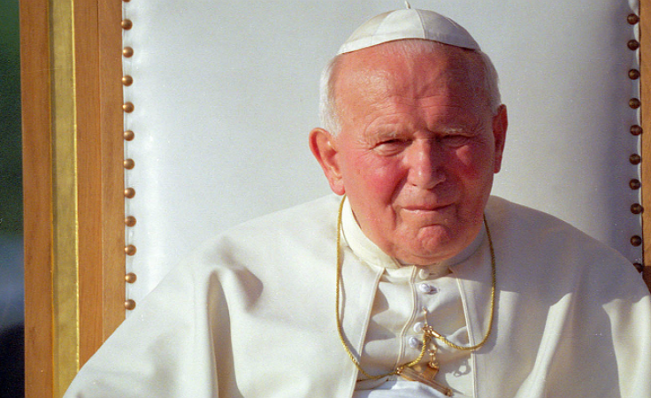 Św. Jan Paweł II (fot. TVP)