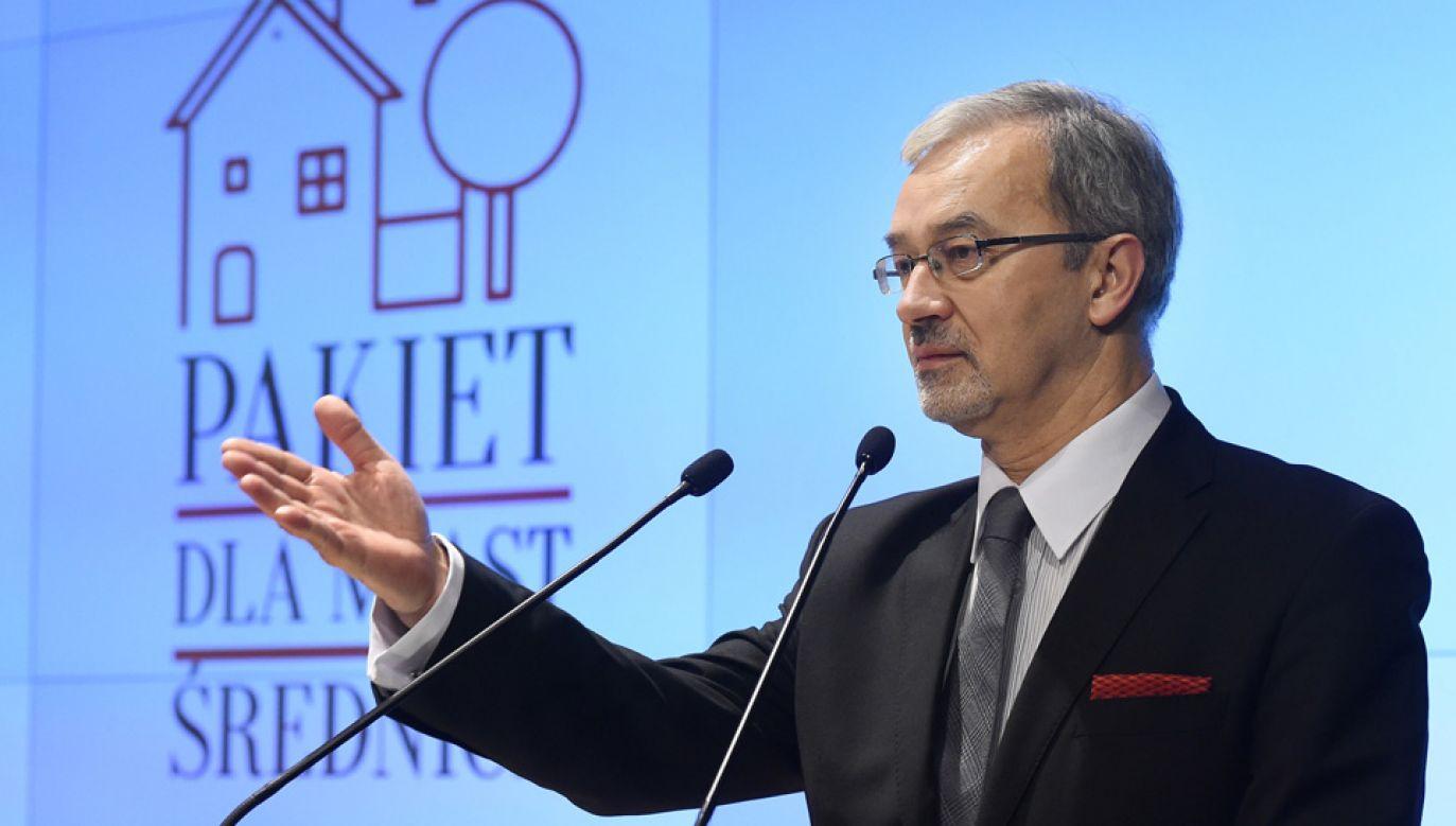Minister inwestycji i rozwoju Jerzy Kwieciński będzie się zajmował m.in. funduszami unijnymi (fot. PAP/Radek Pietruszka)