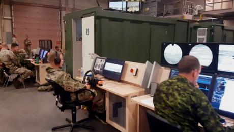 Lubuscy pancerniacy trenują na symulatorach czołgowych
