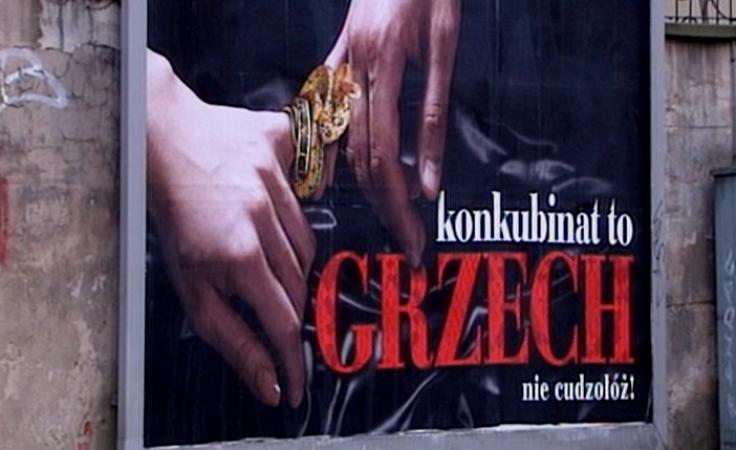 Konkubinat to grzech? – kontrowersyjne billboardy