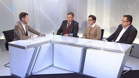 24.09.2017, Marek Surmacz PiS, Krystyna Sibińska PO, Leszek Gajda Polska Razem Zjednoczona Prawica
