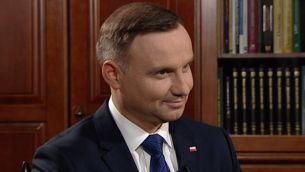 """Prezydent Andrzej Duda w """"Temacie Dnia"""" na antenie TVP3 Poznań"""
