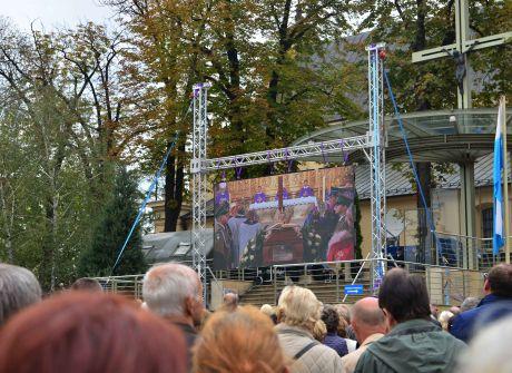 Msza pogrzebowa biskupa Kazimierza Ryczana, Kielce, 19.09.2017