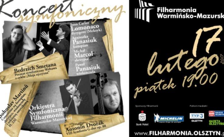 . Koncert odbędzie się w piątek 17 lutego o godz. 19:00