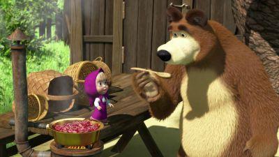 Masza i niedźwiedź, odc. 6 – Konfiturki