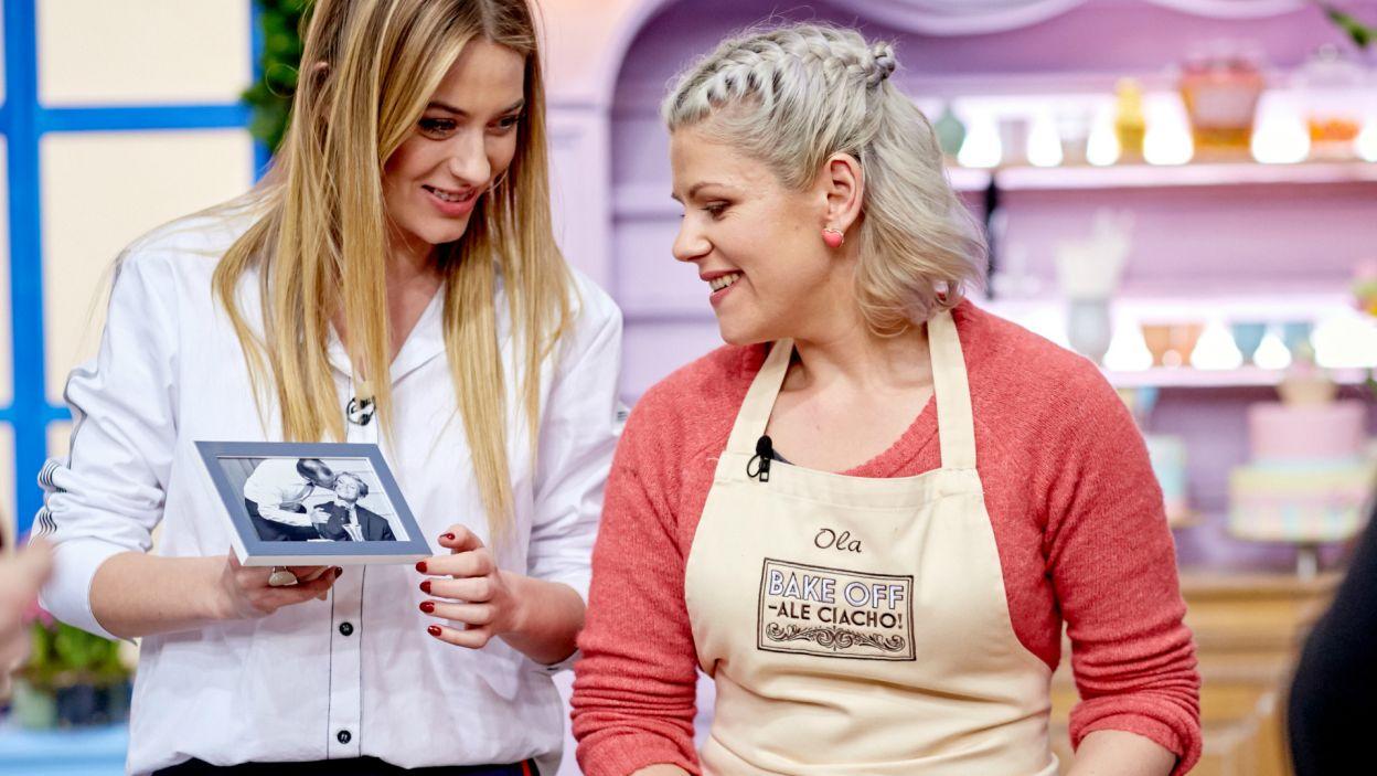 Ola swój tort zadedykowała mężowi (fot. TVP)