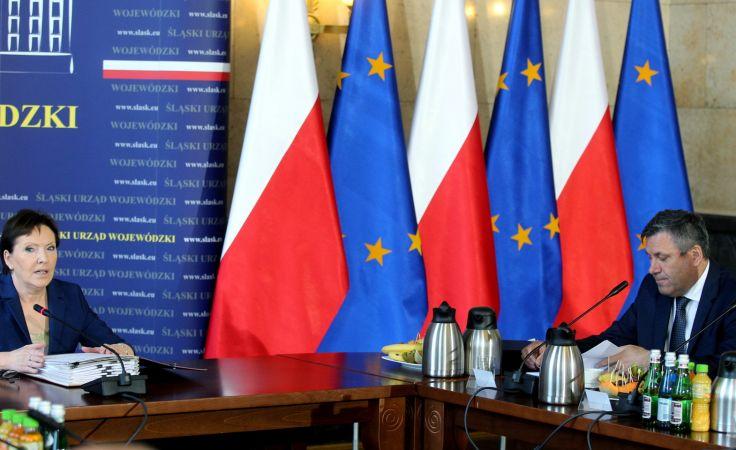 Ewa Kopacz i Janusz Piechociński fot. PAP/Andrzej Grygiel
