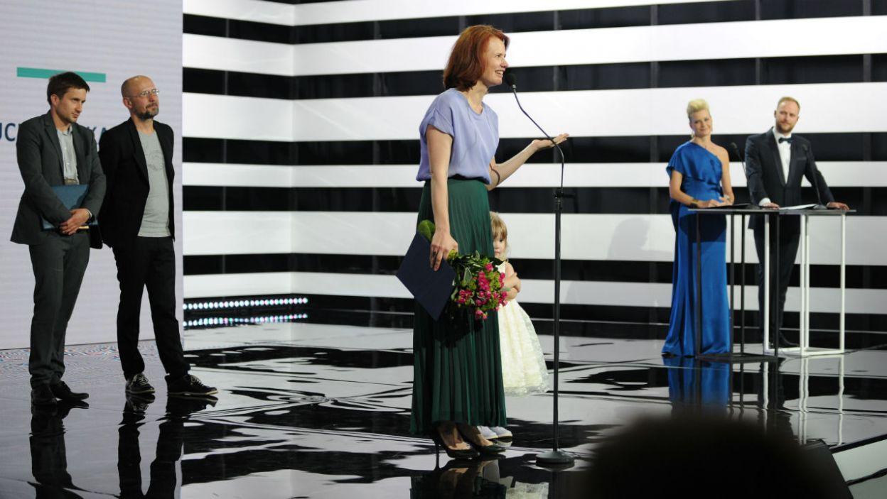 O oprawę muzyczną zadbała m.in. aktorka Wiktoria Gorodeckaja (fot. N. Młudzik/TVP)