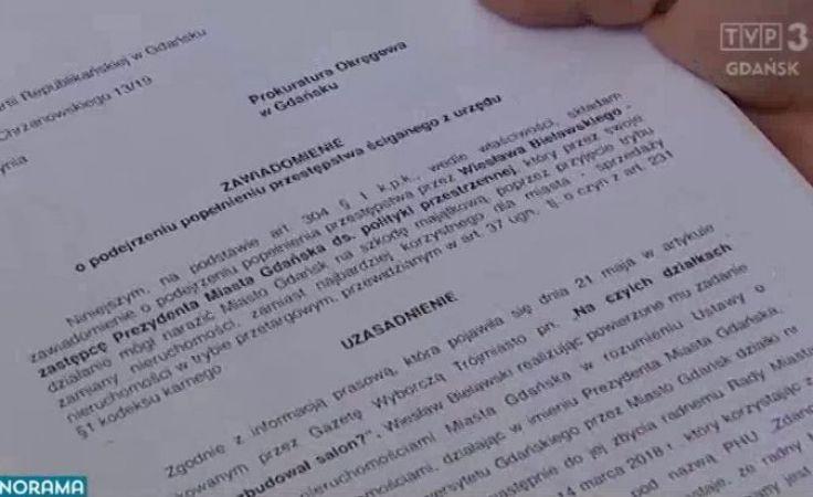 Trzy wnioski do prokuratury w sprawie Zdanowicza