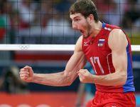 Maksim Michajłow ekspresyjnie cieszył się po każdej udanej akcji (fot. Getty Images)