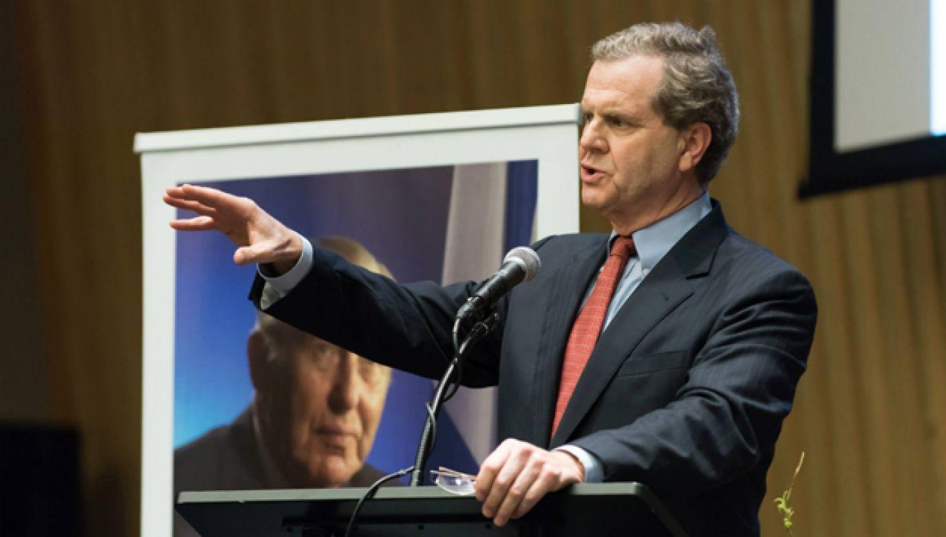 67-letni prawnik David Harris kieruje AJC od 1990 roku (fot. FB/AJCGlobal)