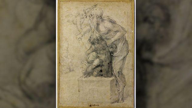 Szkic Michała Anioła (fot. materiały prasowe)