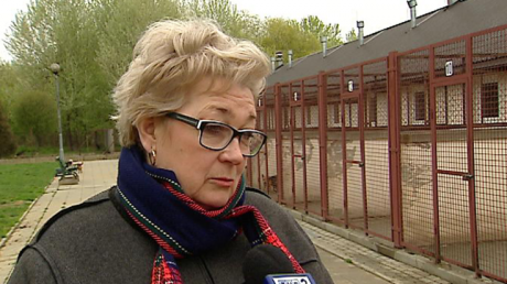 Halina Derwisz,  prezes Rzeszowskiego Stowarzyszenia Ochrony Zwierząt i kierowniczka schroniska