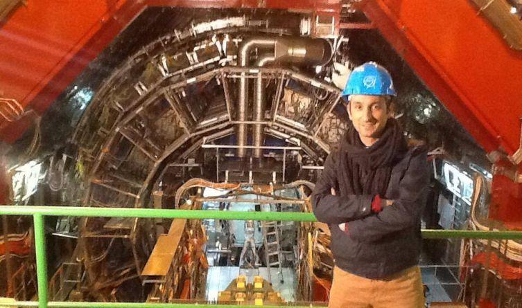 Radek Brzózka w CERN
