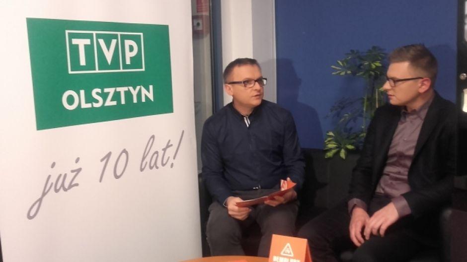 Marcin Zawada, dyrektor artystyczny festiwalu Demoludy i Piotr Filipowicz, dyrektor festiwalu Demoludy