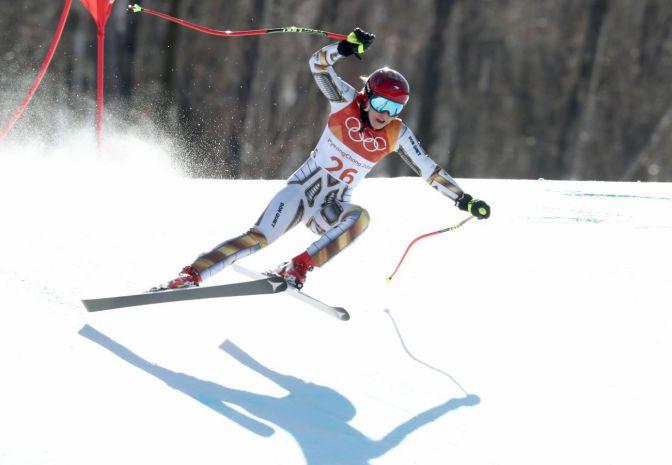 Ledecka zjechała na nartach... Shiffrin