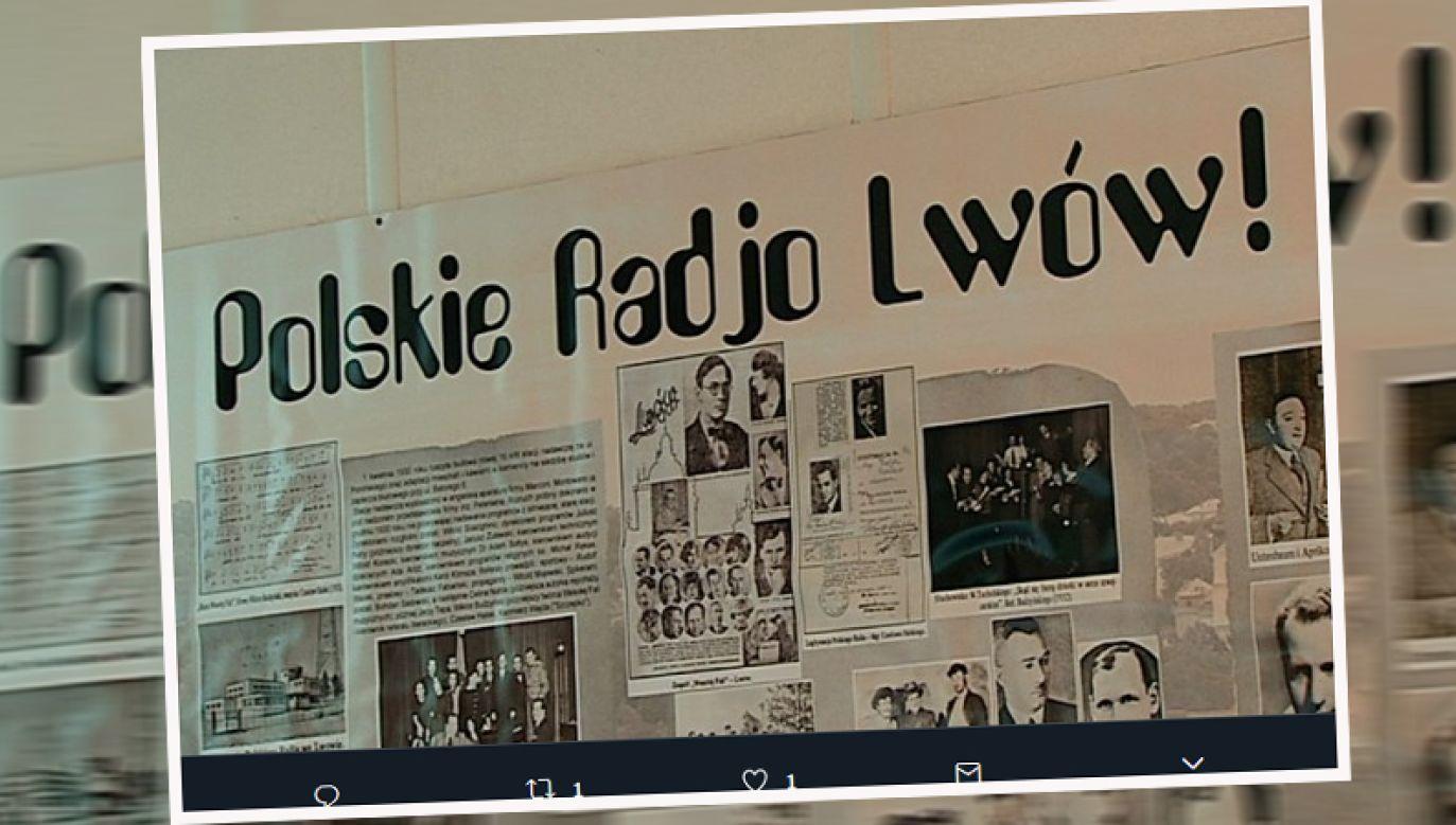Polskie Radio Lwów jest kontynuatorem tradycji przedwojennej rozgłośni (fot. twitter.com/tvp3Rzeszów)