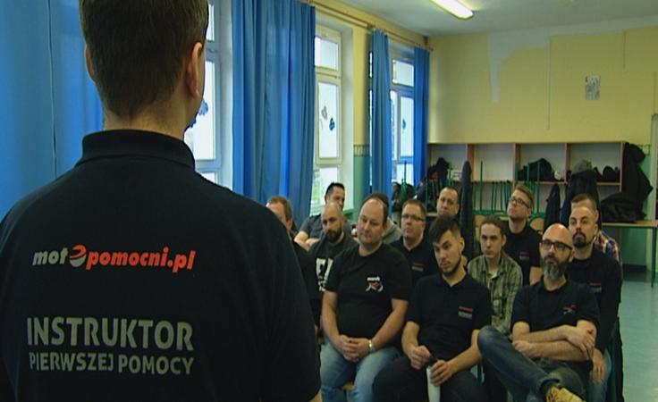 Bezpieczny i MotoPomocny: rozpoczął się cykl treningów