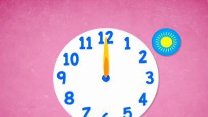 Baw się słowami - Godziny